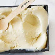 Lightened Vanilla Bean Ice Cream