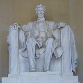 President Lincoln by Amy Hepler - Buildings & Architecture Statues & Monuments