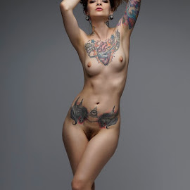 Theresa  by Jean Perrin - Nudes & Boudoir Artistic Nude ( model, sexy, nude, nude model, tattoos )