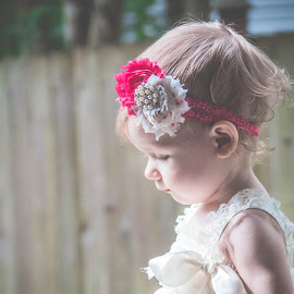walkin by Jenny Hammer - Babies & Children Children Candids ( girl, headband, baby, cute, walk )