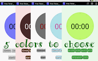 Screenshot of Autism Aid EducationTimer