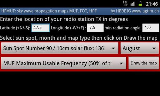 MyHF_Map業餘無線電MUF地圖