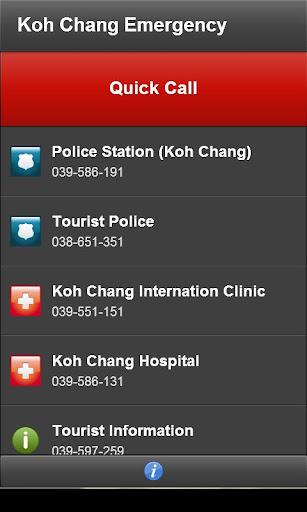 【免費旅遊App】Koh Chang Emergency-APP點子