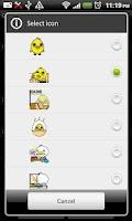 Screenshot of Ani Clock Widget Lite