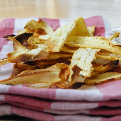 Home-Baked Honey Parsnip Crisps