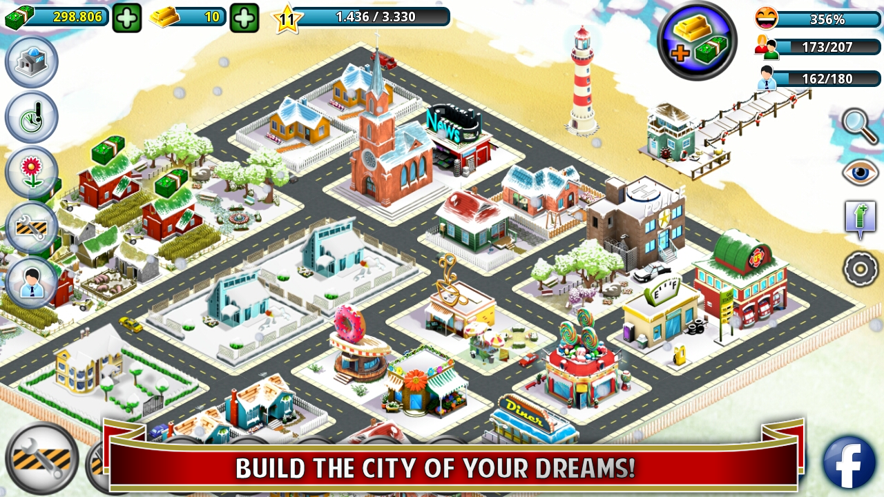 City Island: Winter Edition Screenshot 0