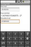 Screenshot of Floating Point Konverter