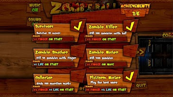 Screenshot of Ball vs. Zombies