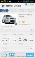 Screenshot of Zuzuche - Car rental expert