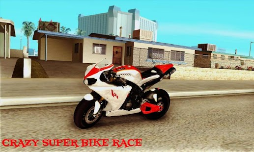 Crazy Super Bike Race - screenshot