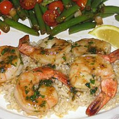 Garlic- Lime Shrimp