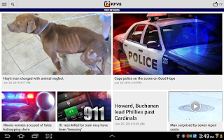 Screenshot of KFVS12 Local News