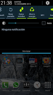 Open Notification Bar Pro - screenshot