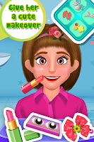 Screenshot of Hairy Salon - Face Makeover