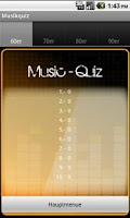 Screenshot of Music Quiz