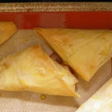 Potato And Tuna Filo Turnovers
