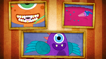 Screenshot of Tizzy Monster Pet Vet Lite