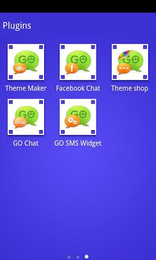 玩個人化App|GOSMSTHEME泡泡藍免費|APP試玩