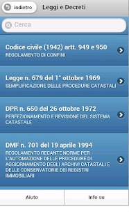 TapP Norma Catasto Terreni - screenshot