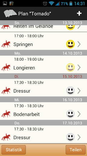 Klimke Pferde Training - screenshot