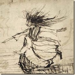 A bruxa, de Alfre de Musset.