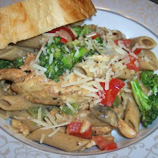 Spicy Cajun Chicken Penne