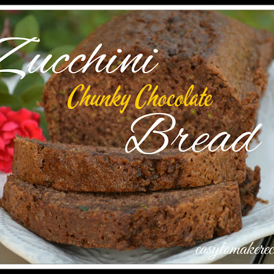 Chunky Chocolate Zucchini Bread
