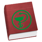 Latin medical terms dictionary icon