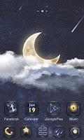 Screenshot of Moon GO Launcher Theme