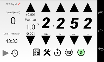 Screenshot of Rally Regularity Odometer Demo
