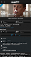 Screenshot of HBO GO Serbia
