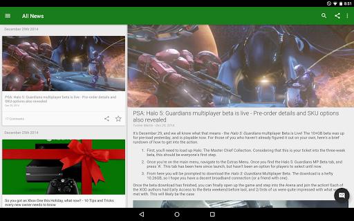News for Xbox One - screenshot