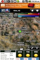 Screenshot of KVOA WX