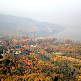 by Arkadeb Kar - Novices Only Landscapes ( kashmir valley, fall, color, colorful, nature )