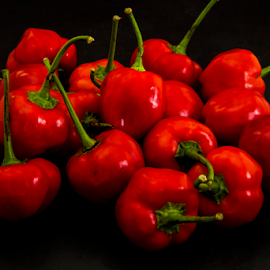 by Johan Niemand - Food & Drink Fruits & Vegetables ( red, hot, sweet pepper, chilly, pepadew )