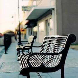 so empty by Hannah Palmer - City,  Street & Park  Markets & Shops ( minolta, 35mm, film camera )