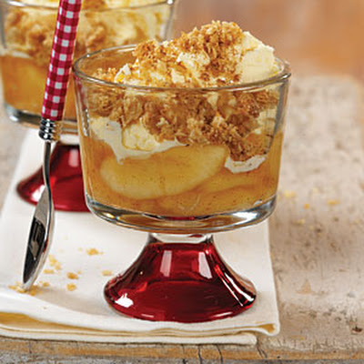 Cinnamon-Apple Parfaits