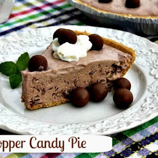 Whopper Candy Ice Box Pie ~ Revisited