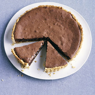 Chocolate, Hazelnut & Salted Caramel Tart