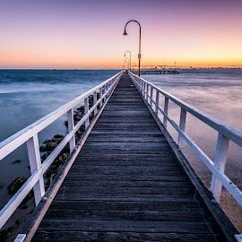 by Zubair Aslam - Landscapes Beaches ( lagoon pier, lagoon, port melbourne,  )