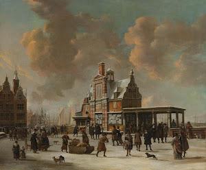 RIJKS: Jan Abrahamsz. Beerstraten: painting 1666