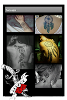 Screenshot of TattooMe (Tattoo gallery)