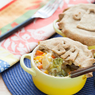 Vegetable Pot Pie with Whole Wheat Crust