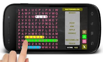 Screenshot of Word Search 2