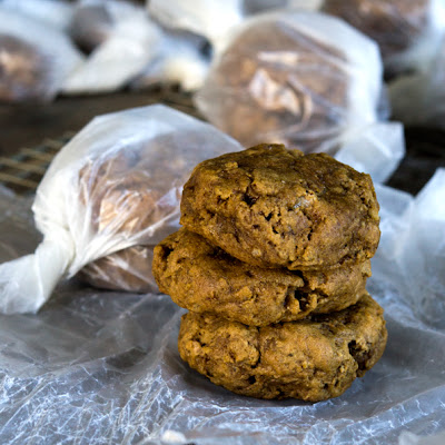 Pumpkin Quinoa & Chia Breakfast Cookies