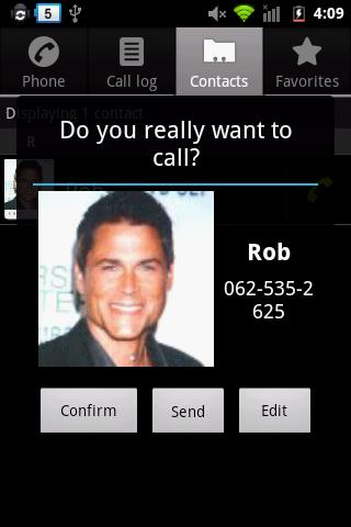 Outgoing Call Blocker