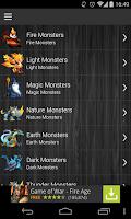 Screenshot of Breeding Guide Monster Legends