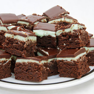Alpine Mint Brownies