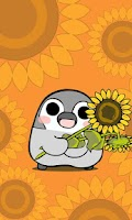 Screenshot of Pesoguin LWP Sunflower Penguin