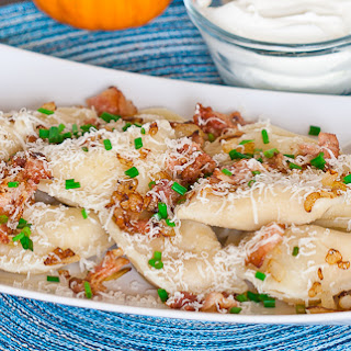 Perogies Bacon Onions Recipes